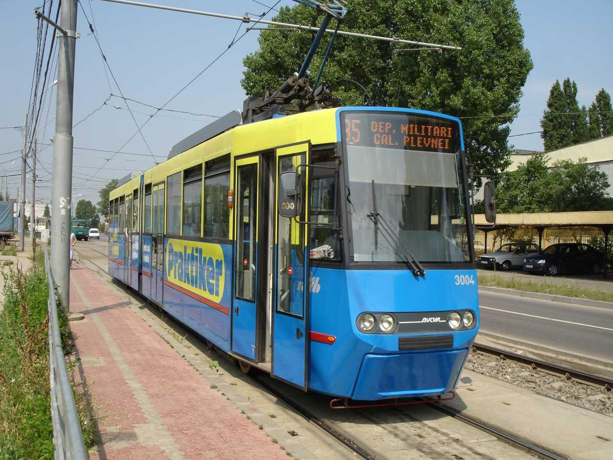 Tramvai în București